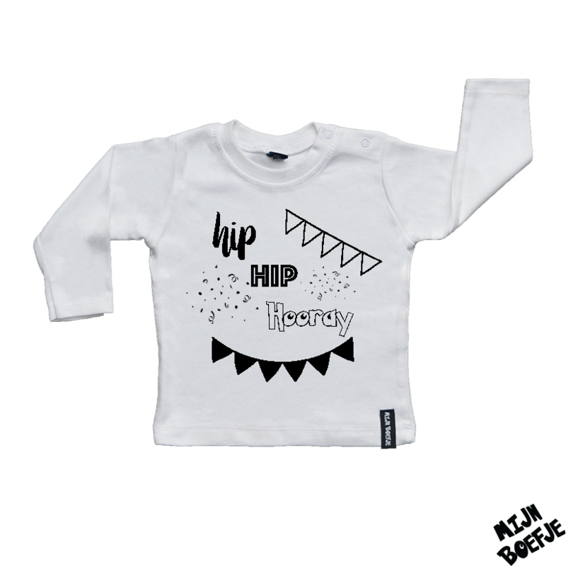 Baby t-shirt Hip Hip Hooray