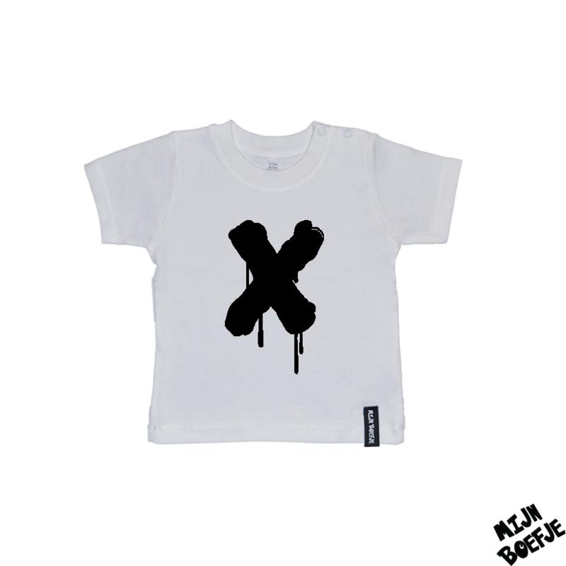 Baby t-shirt X