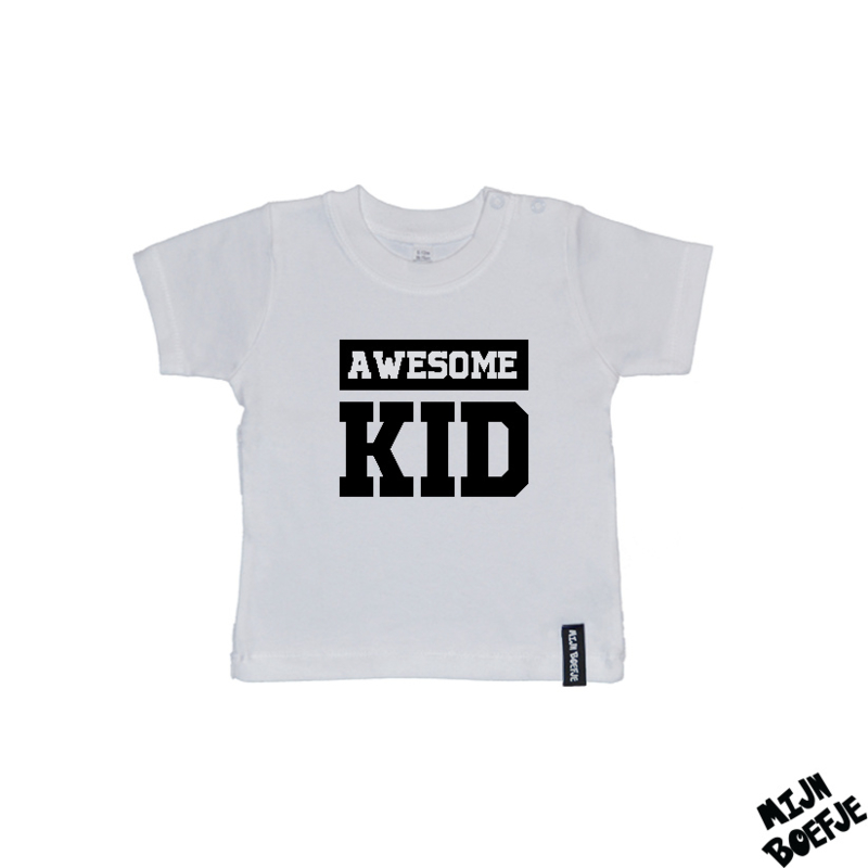 Baby t-shirt AWESOME KID