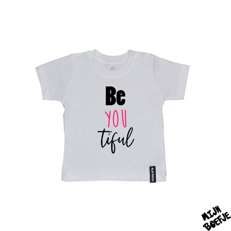 Baby t-shirt Be you tiful