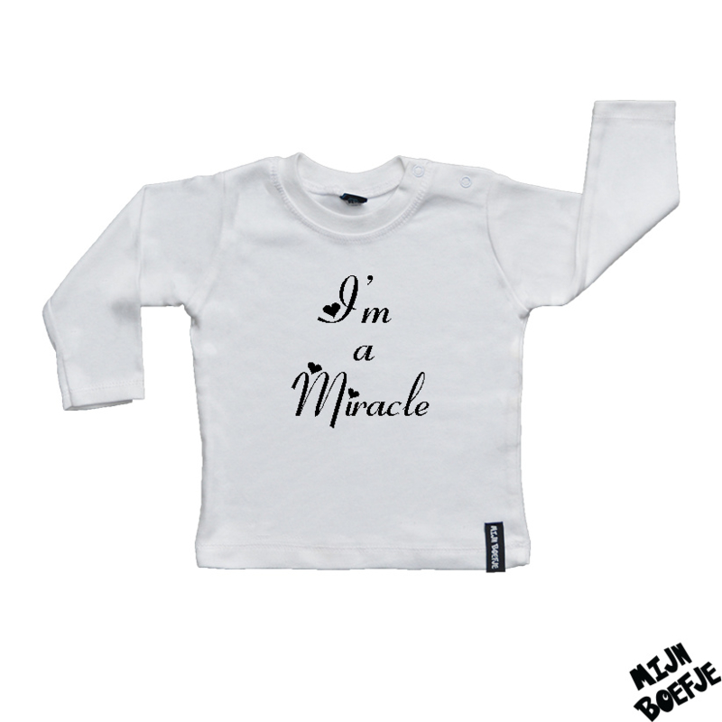 Baby t-shirt I'm a Miracle