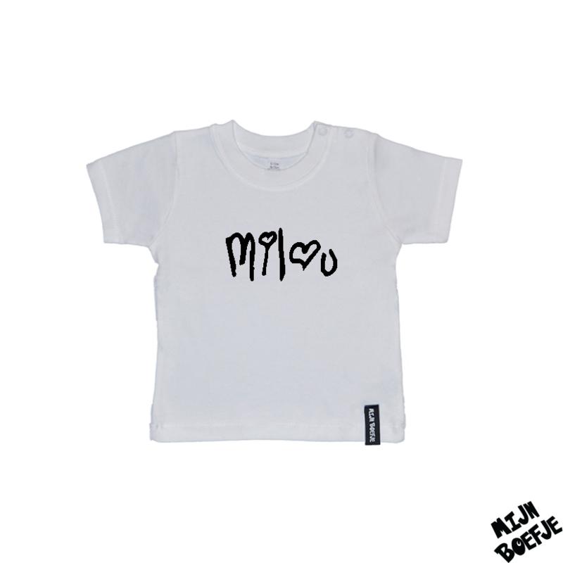 Baby t-shirt Eigen naam