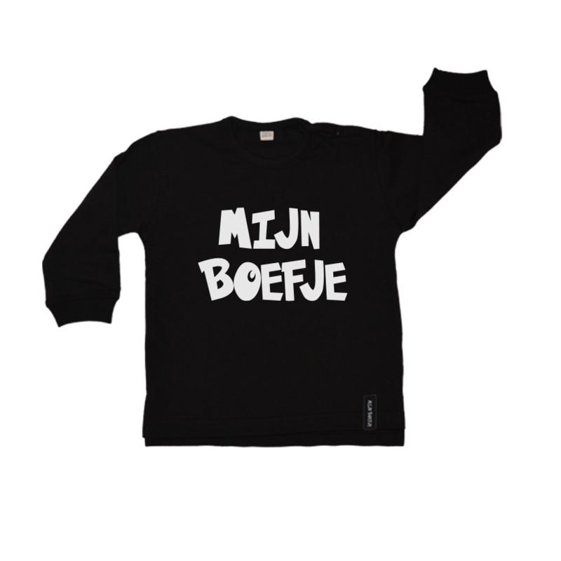 Baby/kinder sweater Mijn Boefje
