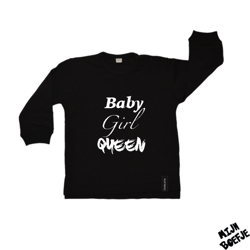 Baby/kinder sweater Baby/Girl/Queen