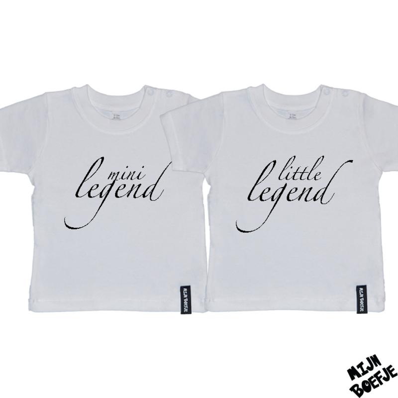 Baby t-shirt LITTLE LEGEND - MINI LEGEND
