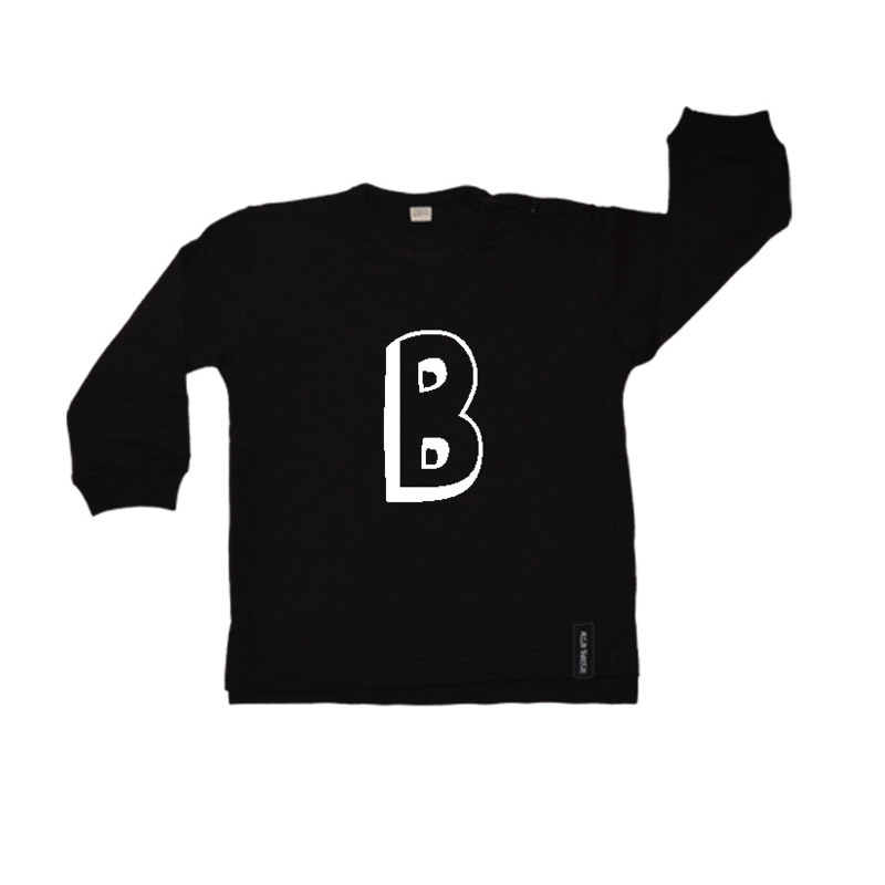 Baby/kinder sweater Eigen letter
