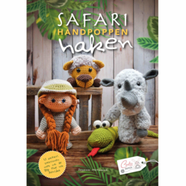 Safari Handpoppen haken van Cute Dutch