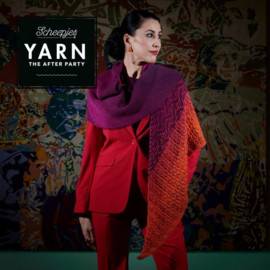 Yarn the Party no 52 Eastern Sunset shawl