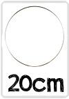 Dromenvanger 20 mm rvs