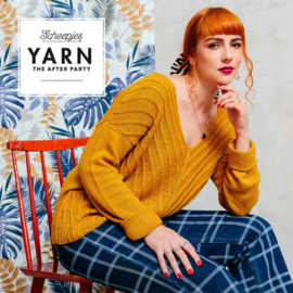 YARN THE AFTER PARTY NR.98 HERRINGBONE V-SWEATER
