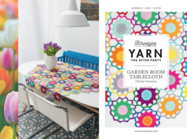 Garden room tablecloth Yarn the after party patroon