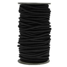 Koord elastiek 5mm zwart