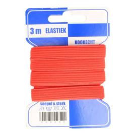 Blauwe kaart elastiek 10mm kleur nr. 722 /mondkapjes