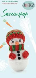Mini Kerstkoukleumpje Sneeuwpop