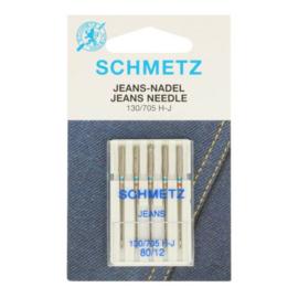 Schmetz Jeans 5 naalden 80-12
