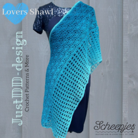 Lovers Shawl van Doris van der Waals