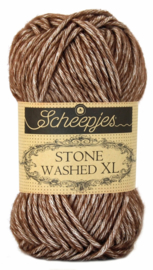 Scheepjes Stone Washed XL 862 Brown Agate