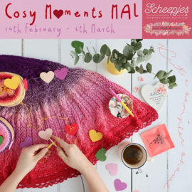 Cosy Moments Mal  Breipakket door Carmen Jorissen van New Leaf Designs.