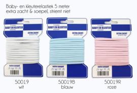 Blauwe Kaart Baby-Kleuter Elastiek blauw