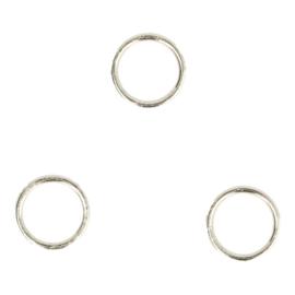 Ringen 10mm binnenmaat zilver