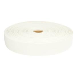Stevig elastiek wit 35mm