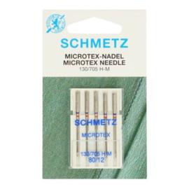 Schmetz microtex 5 naalden 80-12