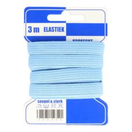 Blauwe kaart elastiek 10mm kleur nr. 259 /mondkapjes