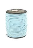 Koord elastiek 3 mm licht blauw
