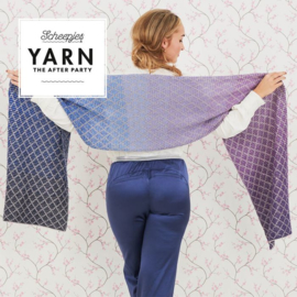 YARN THE AFTER PARTY NR.71 LAVENDER TRELLIS WRAP