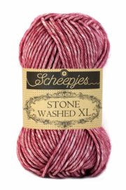 Scheepjes Stone washed XL Corundum ruby 848