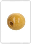 Houten kralen 25 mm Light brown