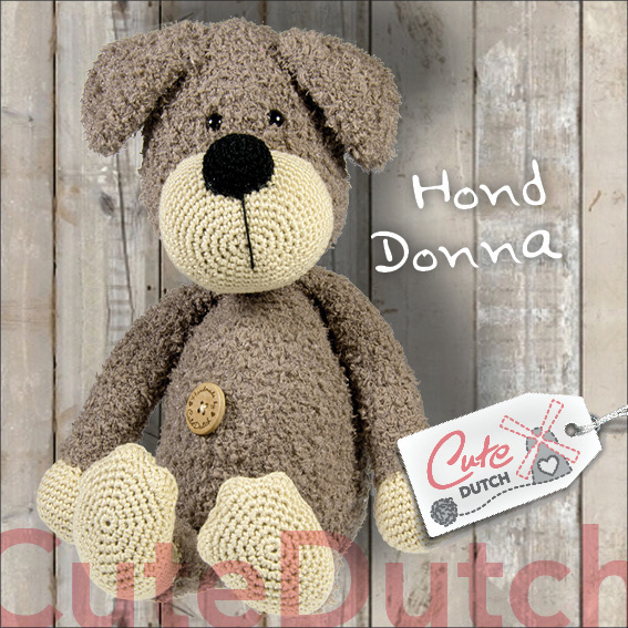 Hond Donna/Cute Dutch Haakpatroon