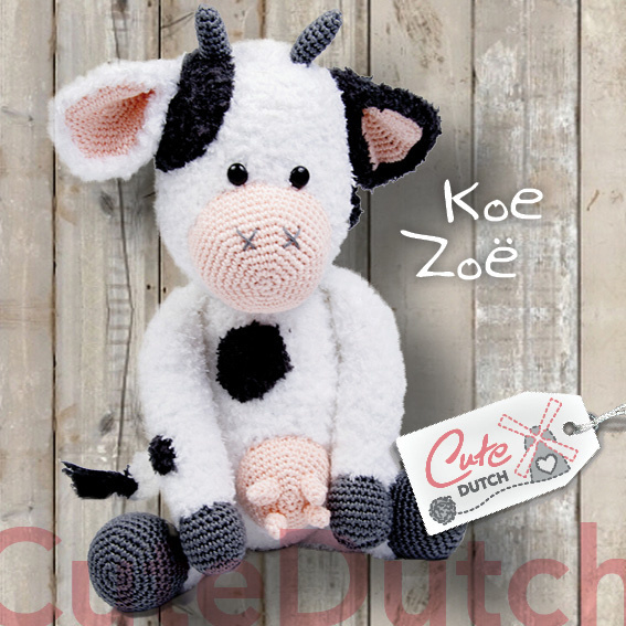 Koe Zoë/Cute Dutch Haakpatroon