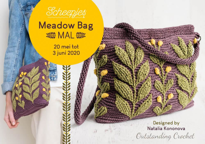 Scheepjes MAL: Meadow Bag Materiaalpakket catona