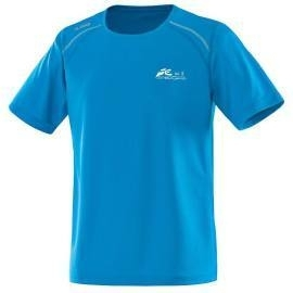 T-Shirt Run JAKO blau  mit dem namen