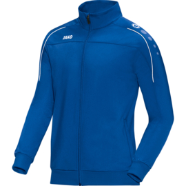 Veste polyester Striker royal  avec nom