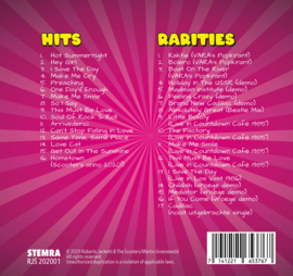Roberto Jacketti & The Scooters - Hits & Rarities (2CD en bandbiografie)