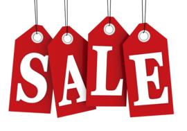 Sales! 60% 70%...