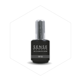 Sense Beaute Soak Off Top Gel 15ml