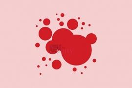 Airbrushverf Carmine red