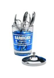 Barbicide Desinfectieflacon Roestvrij Edelstaal Dompelaar 120ml