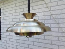 Aluminium schalen lamp. 70-er jaren (1973). Dijkstra. Space Age.