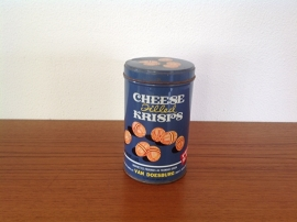 Blikje. Van Doesburg Cheese Krisps.