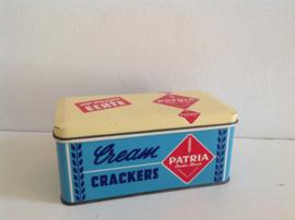 Patria Cream Crackers blik.