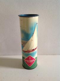 Patria reisverpakking blik. Vroege 60-er jaren.