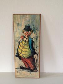 Decoratie. Clown. Jaren 70.