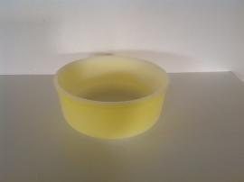 Arcopal. Pastel geel. Schaal rond. 21 cm.