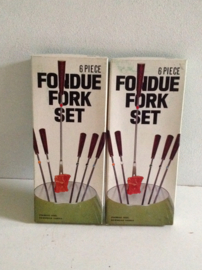 Fondue vorken. Luxe uitvoering.