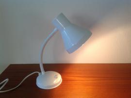 Bureaulampje. Wit.