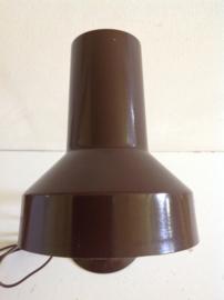 Bureaulamp. Bruin. Eind 70-/80er jaren.